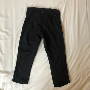 Lululemon Crop Leggings worn once